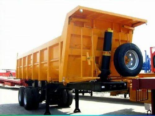 Mild Steel Heavy Duty Tractor Trailer Hydraulic Jack, Capacity: 5-10 Ton