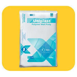 Uniplast White Polymer Wall Putty, Packing Size: 40 Kg