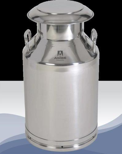 Stainless Steel 304 Food Grade Milk Can 40 ltr