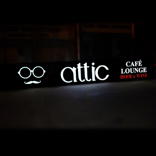 2d Router Cut Acp Signage With Led Lighting