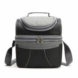 Black Deluxe Lunch Bag