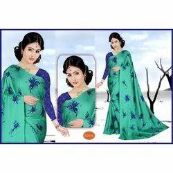 Ladies Printed Patola Cotton Saree