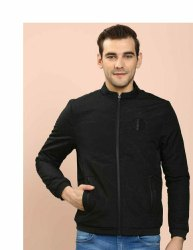 Mens Black Full Sleeves Jacket