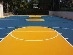 Acrylic Synthetic Flooring