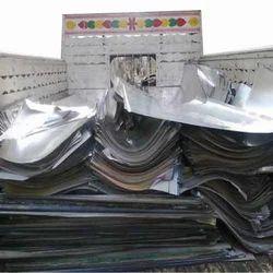 Silver Aluminum Plates Scrap