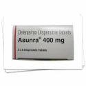 Asunra 400mg, Packaging Type: Box, 400 Mg