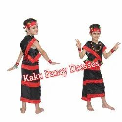 Kids Nagaland Boy Costume