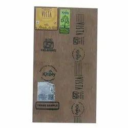 Brown Kitply Vista Plywood Board