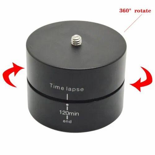 Time Lapse Camera Mount Panning Rotating 360 Degrees 120 Minutes Rotating Camera