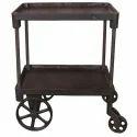 Trolley Wheel Table Industrial Furniture