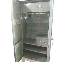Mild Sheet 2 Door Locker Almirah, Dimension: 18 x 36 x 78 Inch