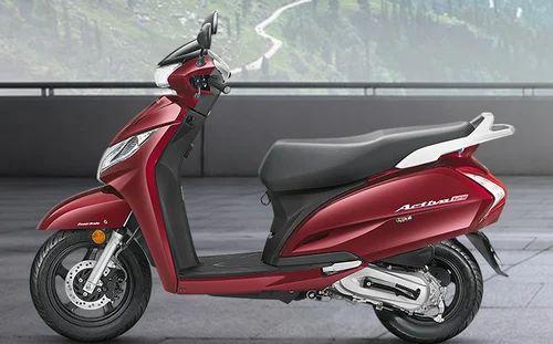 Red Honda Activa 125cc Scooter Rs 59978 Unit Srijan Honda Id