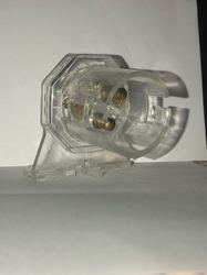Plastic Alpha CFL Holder, Base Type: E40