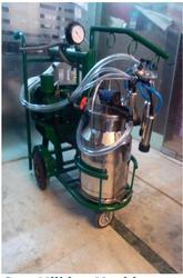 JMD INDIA Single Head Cow Milking Machine
