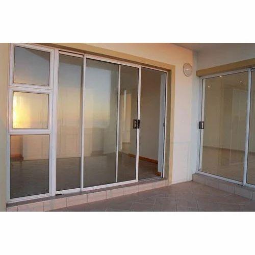 Aluminum Glass Sliding Door At Rs 190 Square Feet Aluminum