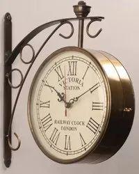 K&T Brass Antique Wall Clock