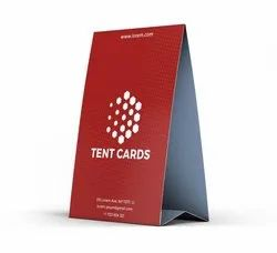 Tent Card Printing, Location: National And International
