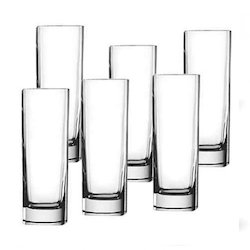 GMO Clear Glass Glass Tumblers Tableware, Size: Various Sizes & Designs