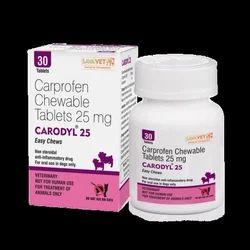 Carodyl 25mg Tablets