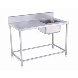 GK-087 Work Table with Single Sink