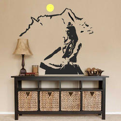 Printed Interior Wall Stickers, Size: 10 X 4 Feet