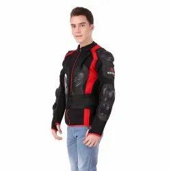 Full Sleeve Goracer Black Bike Rider Jacket