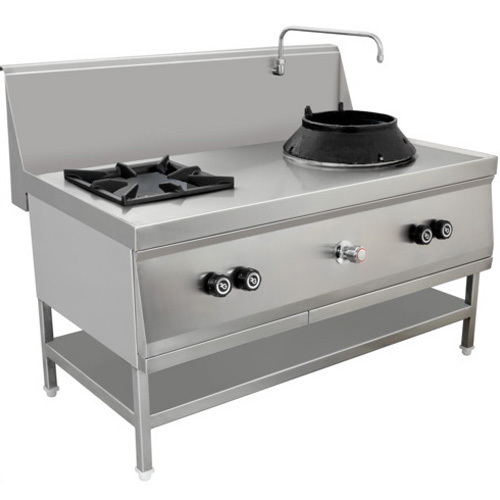 Number 1 Chinese Kitchen: SS Commercial Burner Gas Stove At Rs 25000 /piece