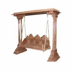 Roof Top Wooden Swing