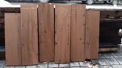 5-7 Feet Brown Solid BTC Wood, Thickness: 2-15 Mm