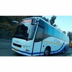 White 43 Volvo Bus Rental Service, Vehicle Model: 2013, 24 x 7