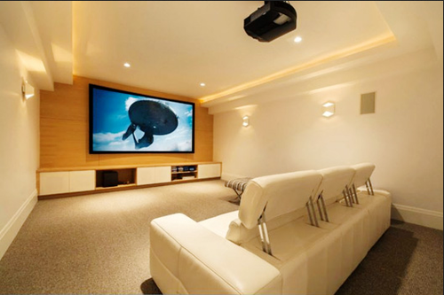 Custom Home Theater Solution | Opton Automations | Service Provider ...