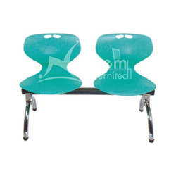 NF-208 2 Seater Plastic Waiting Chair