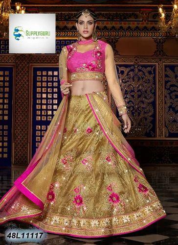 d5a098b2ab Semi-Stitched Raw Silk Fancy Lehenga, Rs 6068 /piece, Supply Guru ...