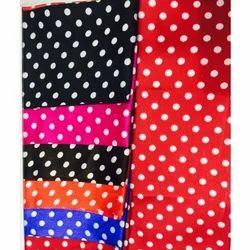 Polka Print Fabric