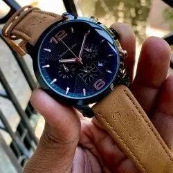 Black Men Mont Blanc Chronograph Watch