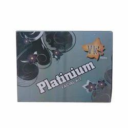 VK's Platinum Facial Kit for Personal & Parlour