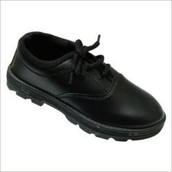 Boys School Black Leather Shoes