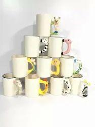 White Animal Mugs MG24, Usage: Home