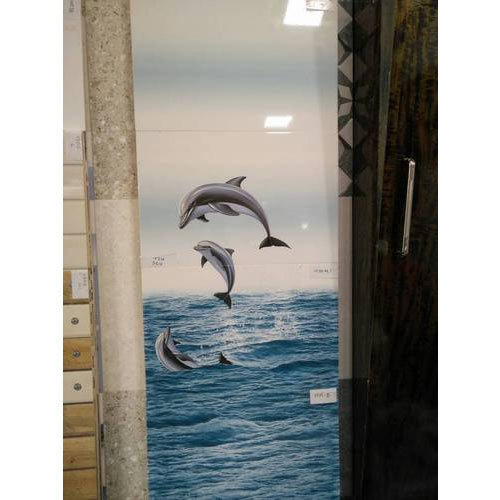 Dolphin Bathroom Tiles: Printed Wall Tiles At Rs 280 /box