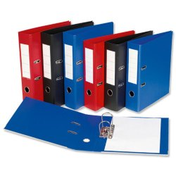 Box File Spiral Binding Plastic Office File