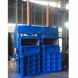 Double Box & Cylinder Hydraulic Baling Press