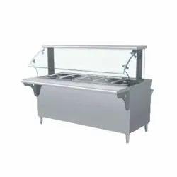 Bain Marie With Glass Shelf Ambala