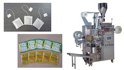 Tea Bag Making Machine with Outer Envelop