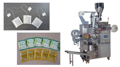 Automatic Tea Bag Making Machine With Outer Envelop Rs