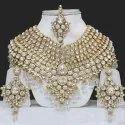 Wedding Wear Bridal Artificial Kundan Necklace Set