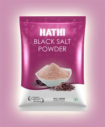 Hathi Pink Black Salt Powder, Packaging Type: Pouch, Packaging Size: 100 g