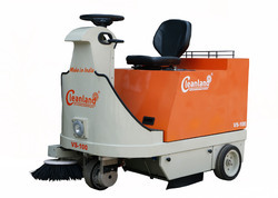 Battery Operated Sweeper for Malls