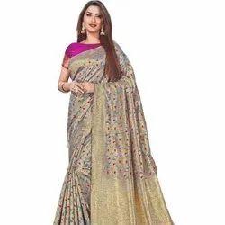 Banarasi Silk With Weaving Saree