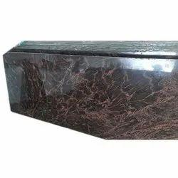 15 Mm Glossy Brown Granite Slab