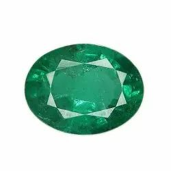 Oval Cut Eye Clean Zambian Emerald